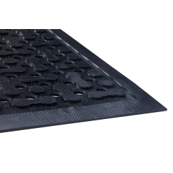 Triple-Flex Flow Anti-Microbial Grease Resistant Non-Slip Rubber Mats