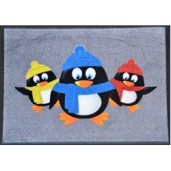 Christmas Mats - Penguins Christmas  Mats