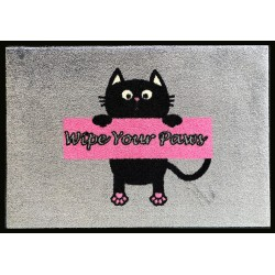 Wipe Your Paws Pink Pet Mats