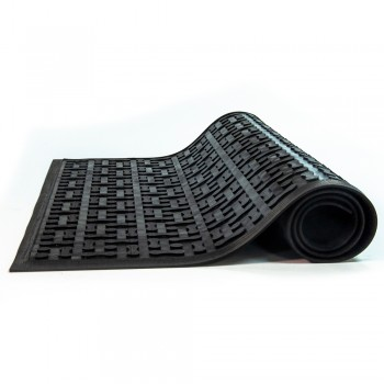 Triple Flex Scrape Anti-Microbial Rubber Non Slip Mat